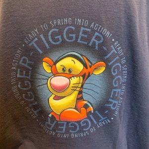 Rare Vintage HTF Disney Tigger tee